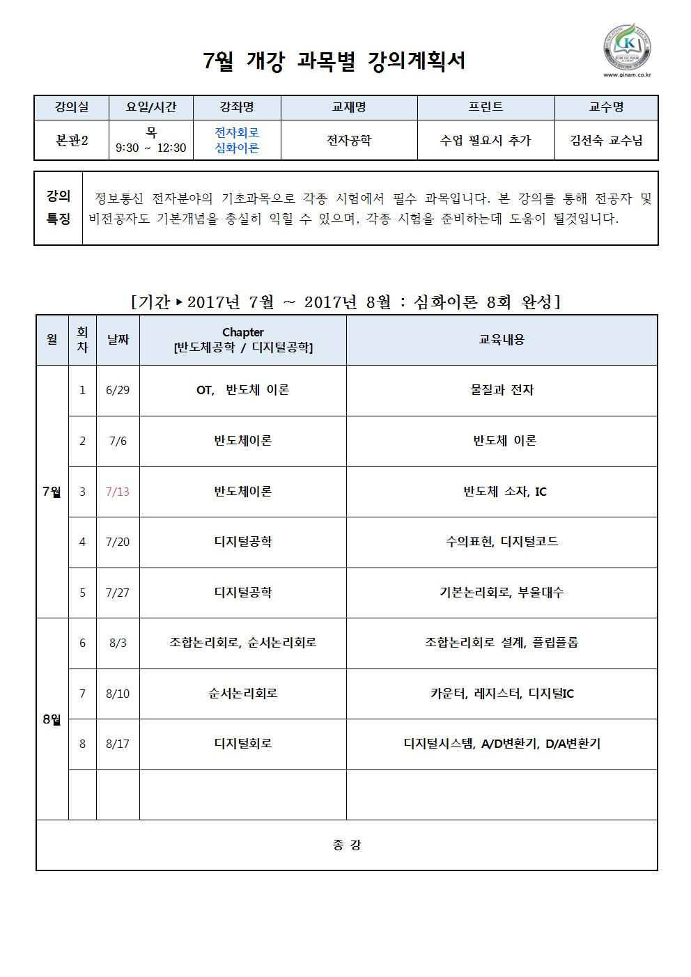7월 강의계획서_8회 (전자회로) 김선숙 교수001.jpg